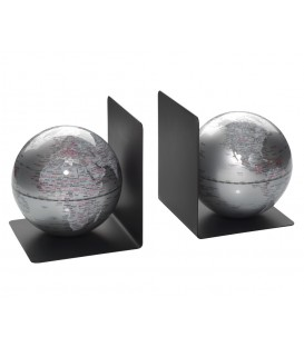 Mappamondo color argento