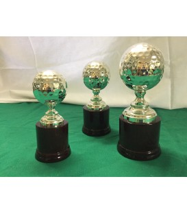 Coppa pallina da golf in Silver Plated