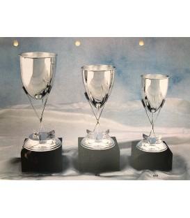 Coppa Tre Mazze in Silver
