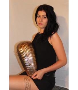 Vaso e centrotavola in oro