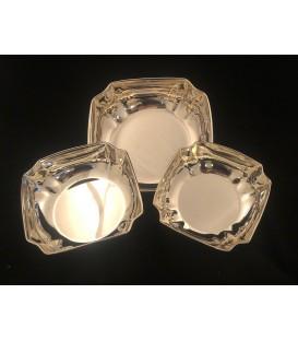 Ciotola Quadrata in Silver