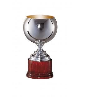 Coppa Sportiva 936 in Silver cm. 19